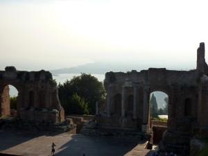 Taormina - Teatro Greco stage
