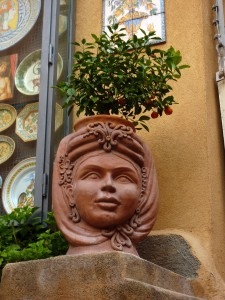 Taormina - ceramic shop
