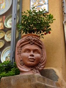 Taormina - ceramic shop