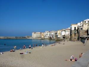 Cefalù beach