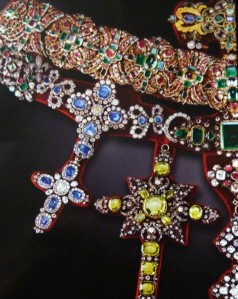 Left side of the Necklace of San Gennaro