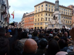 My view of the pope--he was there, honest!
