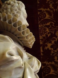 But of Pamphilio Pamphilj, by Algardi - HOW did he sculpt that ruffle!