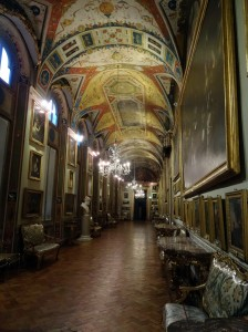 Doria Gallery - floor to ceiling paintings