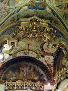 Ceiling in the Aldobrandini Gallery