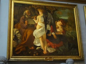 """Rest in the Flight from Egypt,"" by Caravaggio (one of my favorite of his paintings)"
