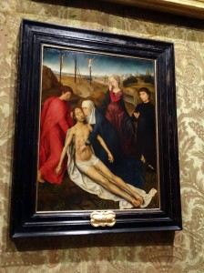"""Lamentation of Christ with a Donor,"" by Hans Memling (Primitives Room)"