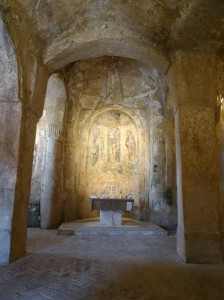 13th-century cave church - Madonna delle Virtù