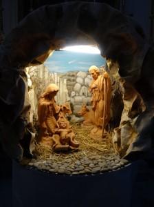 Cave presepio in Chiesa San Francesco da Paolo