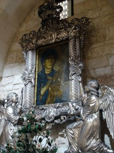 Conversano - icon in the basilica