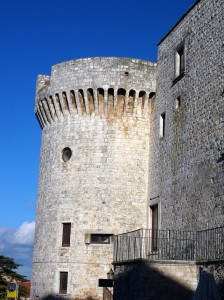 Conversano - such a graceful castle tower