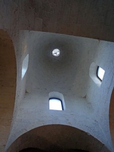 Ceiling of the trullo church