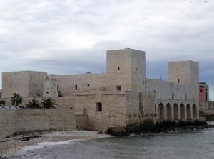 Frederick II's castle in Trani