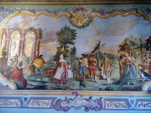 Martina Franca - Ducal Palace (now the city hall) with 18th-century frescoes by Domenico Carella