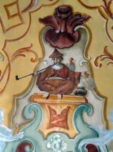 Martina Franca - Ducal Palace frescoes - one of my favorite frescoes EVER (on the ceiling)!