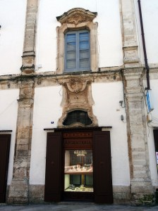 Martina Franca - we saw lots of these unusual, bell-shaped windows in this town.
