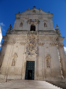 Martina Franca - the glorious Baroque Basilica di San Martino