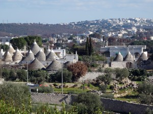 Trulli in the countryside near Locorotondo
