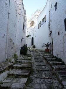 Ostuni street