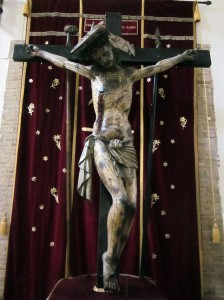 Crucifix in Miglionico (photo by K. McKenna)