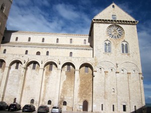 Side of the cathedral (photo by K. McKenna)