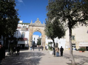 Martina Franca - one of the gates leading into the old town (photo by K. McKenna)