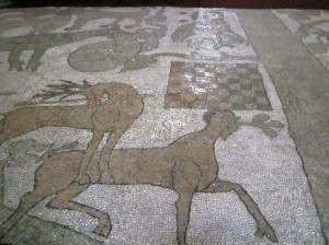 Otranto - cathedral floor (photo by K. McKenna)
