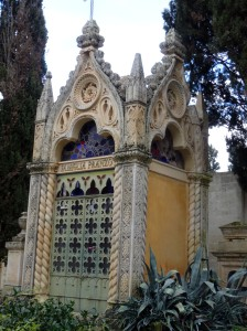 This and the following photos are from the cemetery next to the Chiesa dei Santi Niccolo e Cataldo