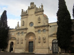 Chiesa dei Santi Niccolo e Cataldo - the cemetery is next to this church