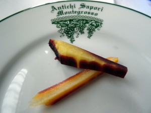 Antichi Sapori - amazing carrots! Look at the color!